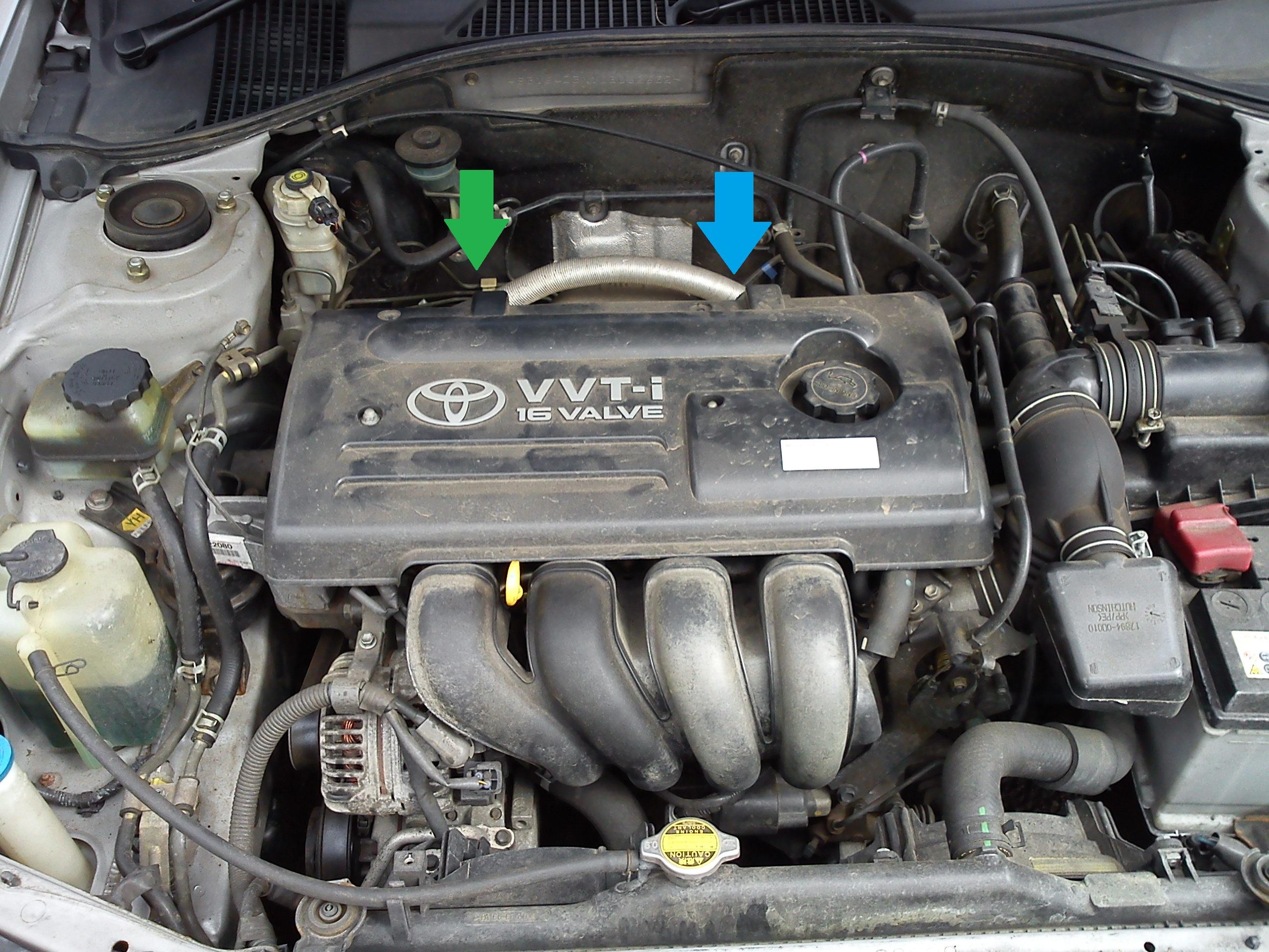 TOYOTA AVENSIS Liftback 2000-2003 1.8 O2 Sensore Ossigeno Lambda