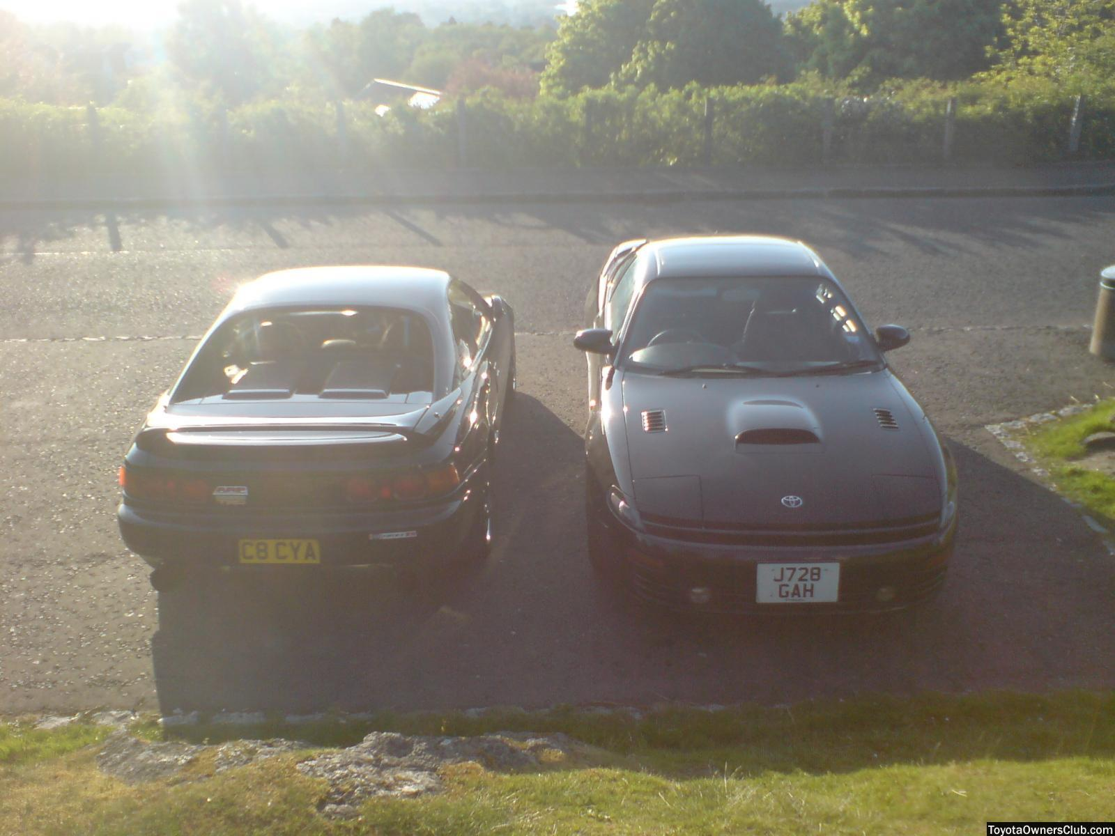 My brothers MR2 and my GT4 ( both when they were standard-is