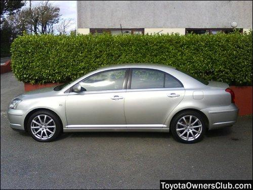 My Toyota Avensis T4 (1.8 litre engine).jpg