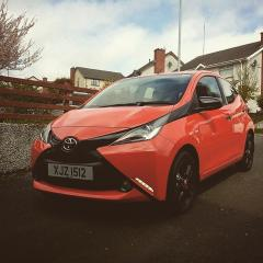 2015 Aygo X-cite Limo tints