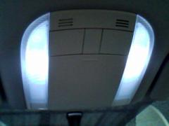 LEDs in front interior lamp