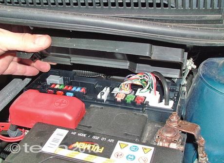 peugeot 107 heater fan not working