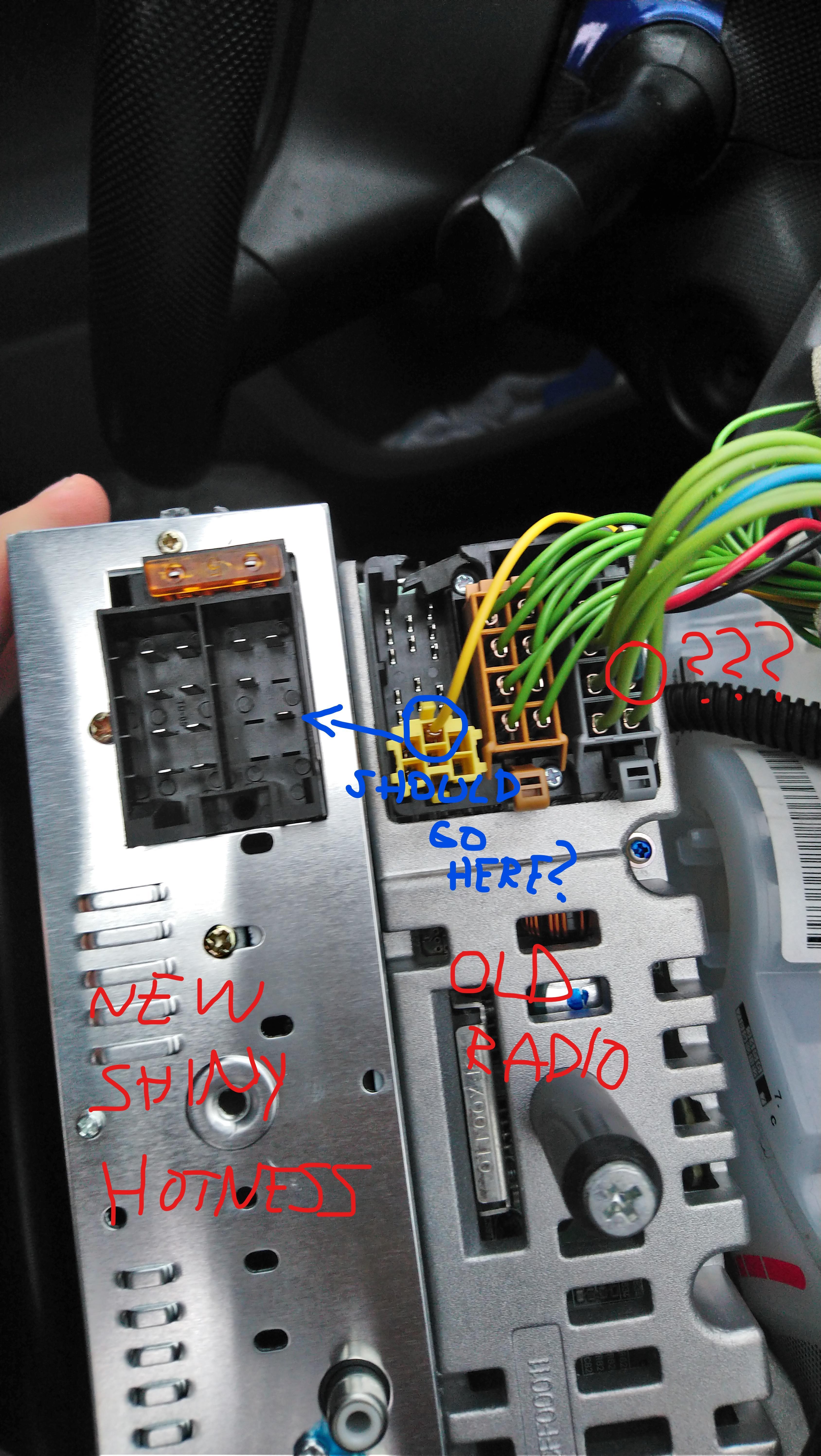 Aygo 2007 Radio Wiring Confusion - Aygo Club