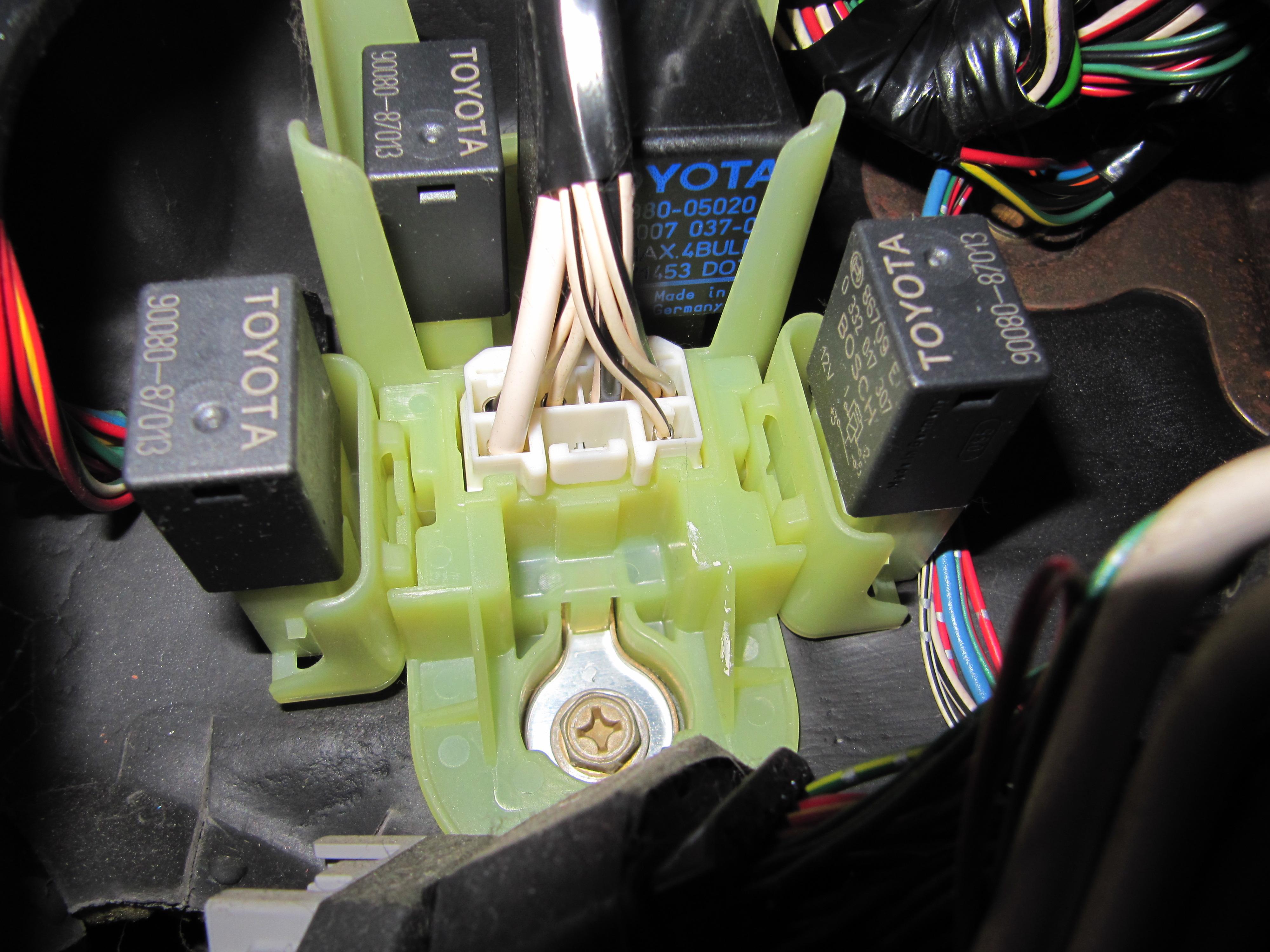 Mk 1 Rear Fog Light Problem - Avensis Club - Toyota Owners Club