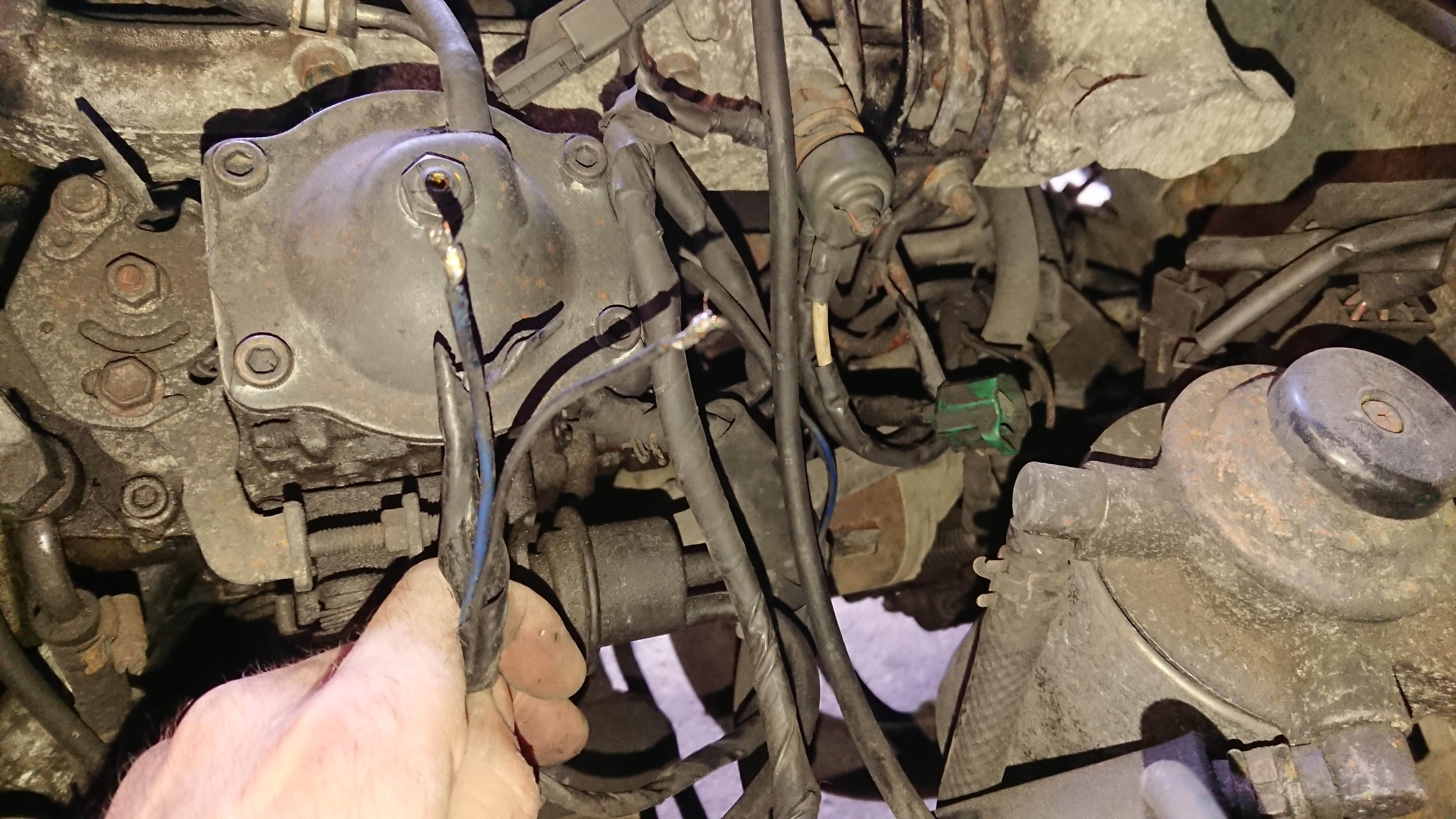 Toyota Townace 2c Glow Plug Wiring Woes